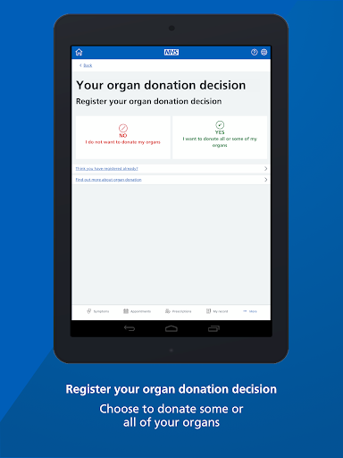 NHS App 1.37.0 Screenshots 12