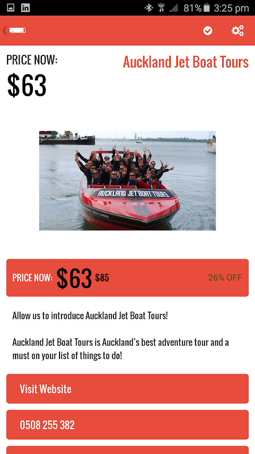 Student Tourist NZ- screenshot