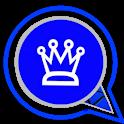 شات بلس الازرق الجديد 2021 icon