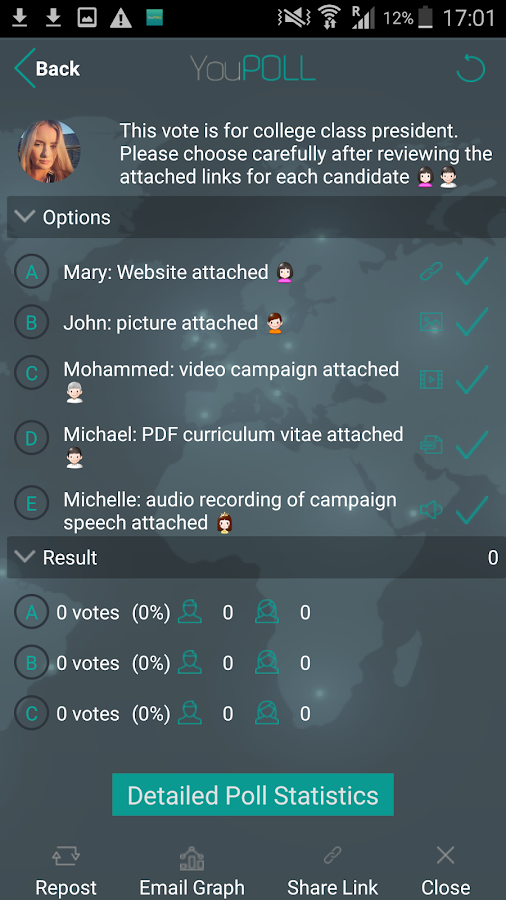 YouPOLL- screenshot