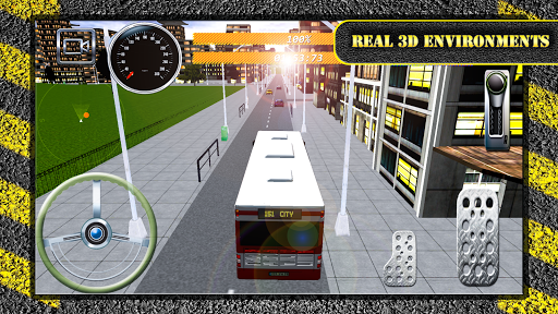 Speed Bus Driving Simulation