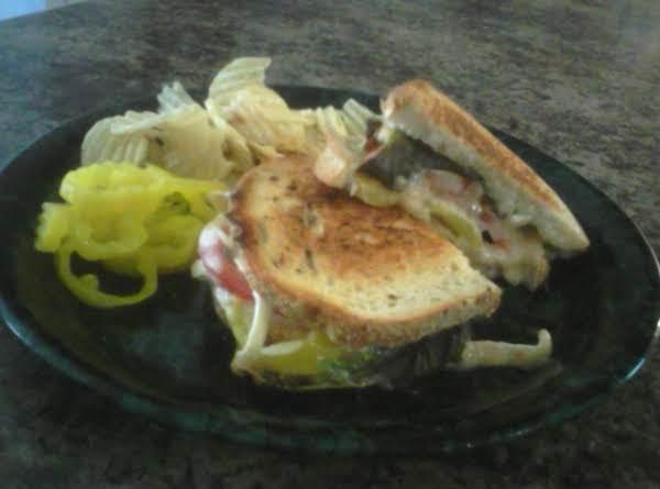 Briemato Bacon And Chips Sammie On Sourdough Recipe