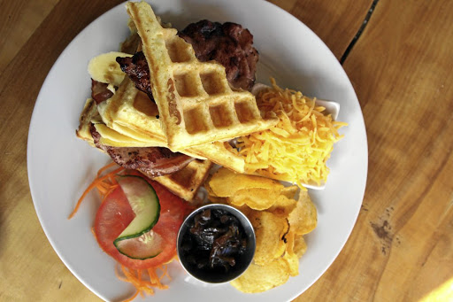 Don't miss The Courtyard's Bakery and Café's awesome breakfast in Clarens.