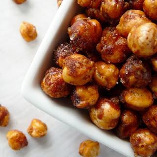 Crispy Cinnamon Garbanzo Beans.