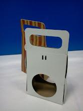 Photo: Porta-Esfera - Embalagem para ovos de páscoa ou outros produtos esféricos ou ovais. Protótipo e produto acabado.