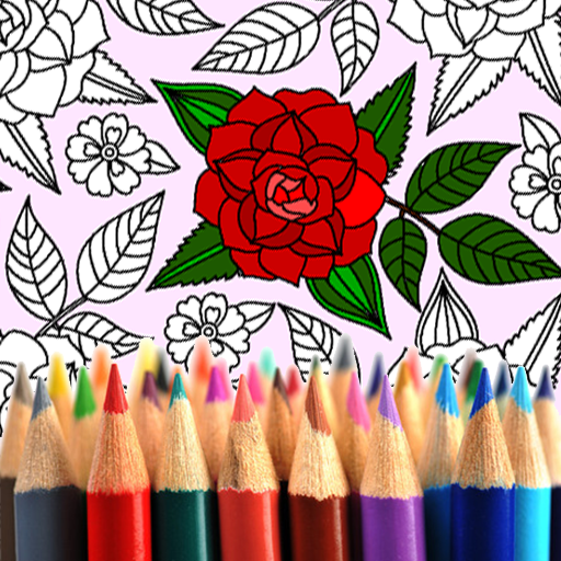 Adult Coloring: Flowers file APK for Gaming PC/PS3/PS4 Smart TV