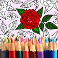 Adult Coloring: Flowers APK