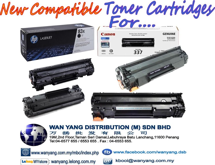 HP 283X/ Canon 337-Compatible Toner cartridges