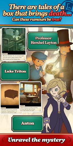 Layton: Pandora's Box in HD  screenshots 2