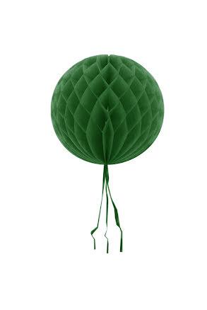 Dekorationsboll, grön 30 cm