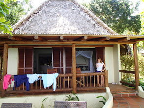 Photo: Genevieve in the Tucan cabina