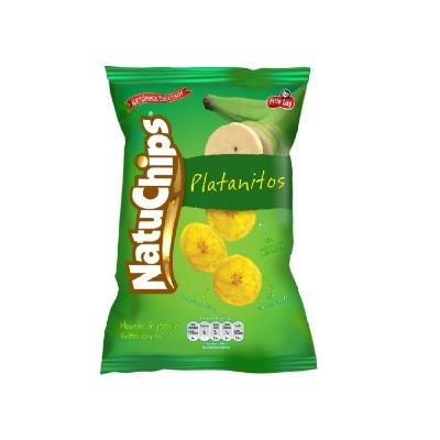 snack natuchips platanitos nat 42gr