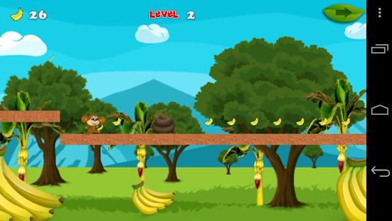 Monkey Jungle Banana screenshot