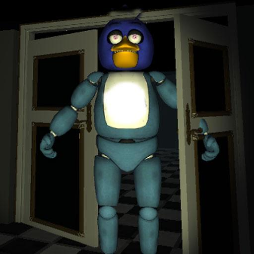 One night of jumpscare animatronic