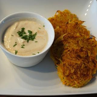Pumpkin & Potato Rösti.