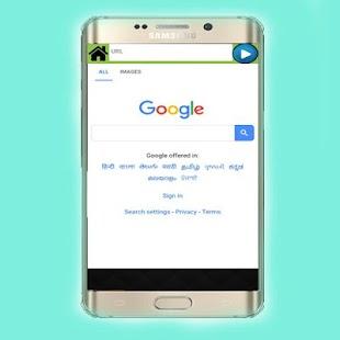 4G Bharat Browser - náhled