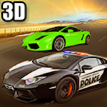 Police Car Chase Racing 2017 Icon