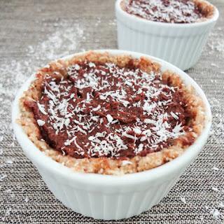 Single-Serving Chocolate Macaroon Pies