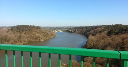 Photo: Vue du pont de la Roche Bernard