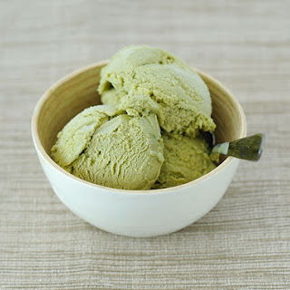 Amazing Japanese Green Tea Ice Cream.