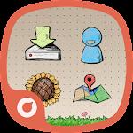 Doodle Style - Solo Launcher Theme Icon