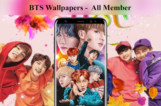 BTS Wallpaper - All Member Apk 1