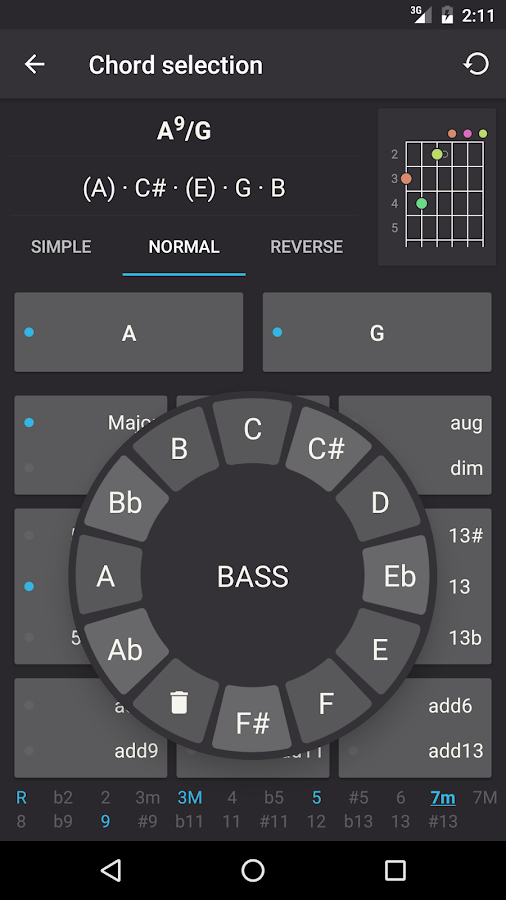 Chord detector android free