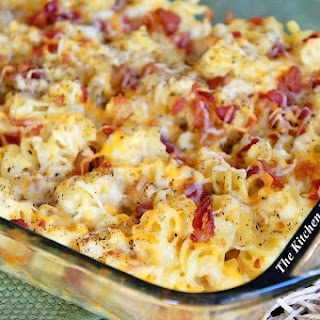 'Cheesy Bacon Chicken Casserole'