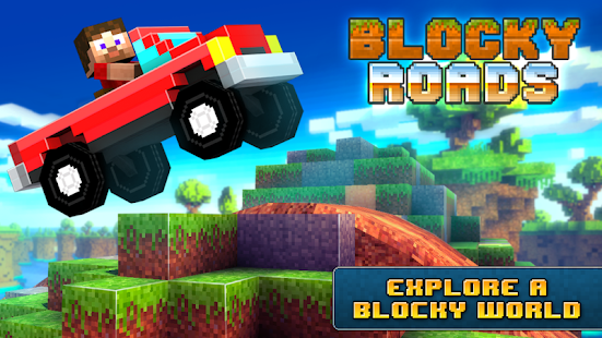 Blocky Roads Screenshot 1