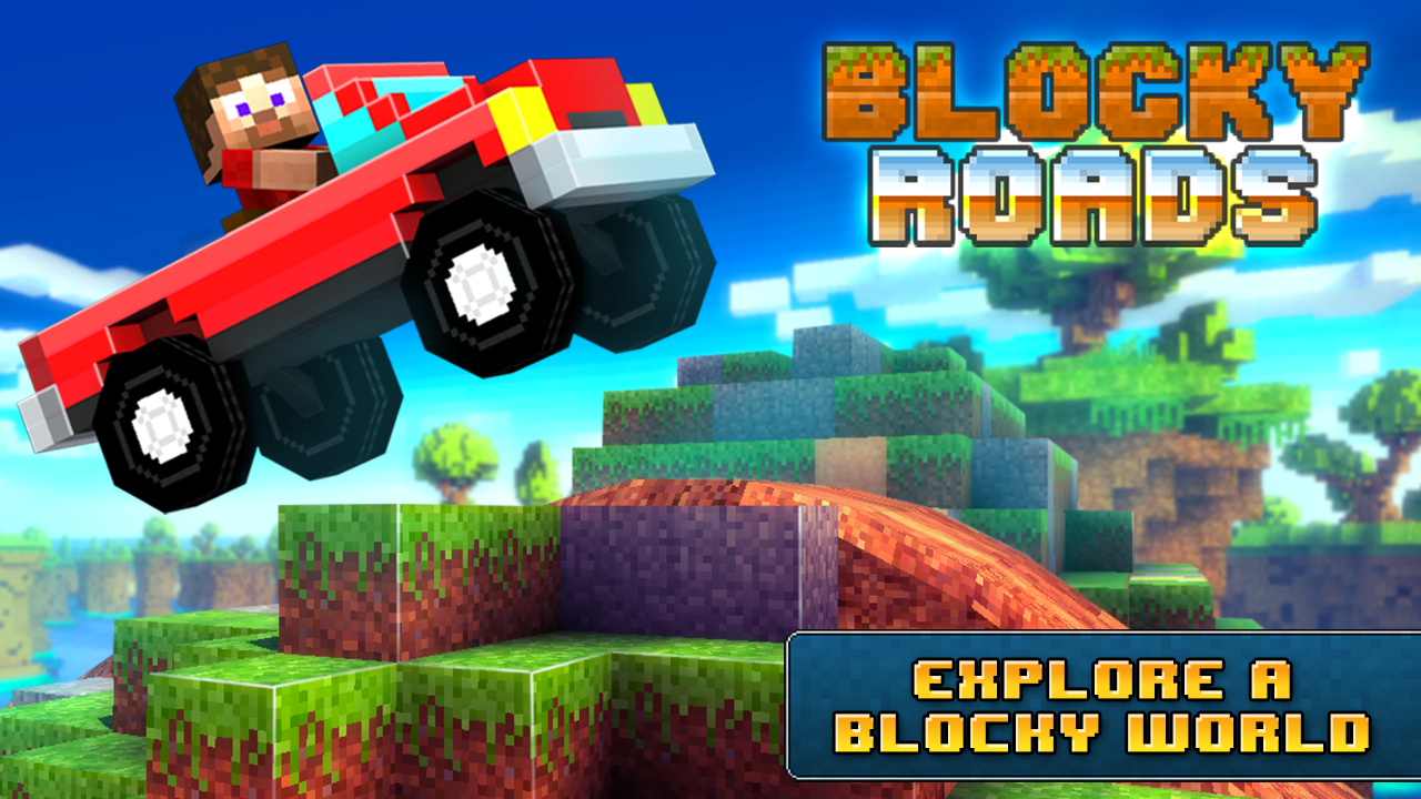 Blocky Roads- screenshot