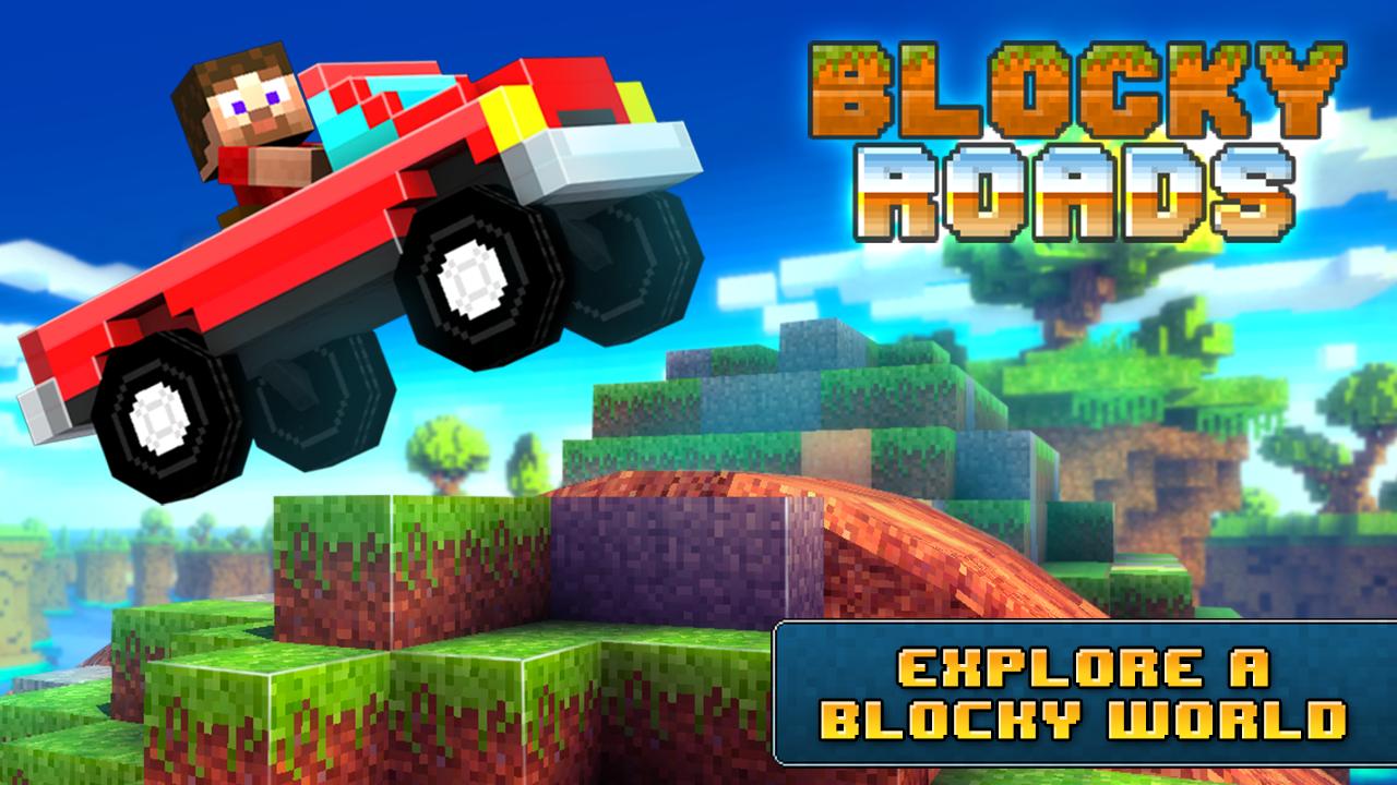 Blocky Roads screenshot #1