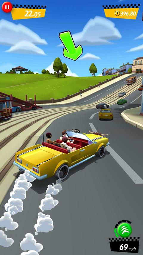 Crazy Taxi™ City Rush screenshot #2