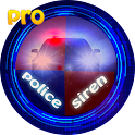 police siren and lights icon
