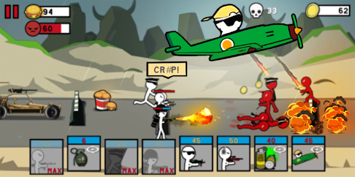 Stickman Army: World War Legacy Fight 1.05 de.gamequotes.net 2