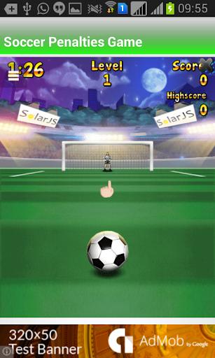 Soccer Penalties Game