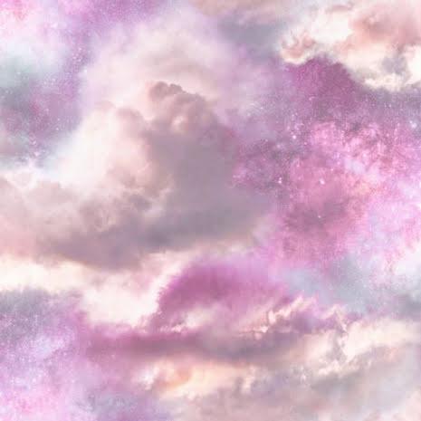 Fantasia Glittrande himmelsk galax tapet från Arthouse - Rosa 260009