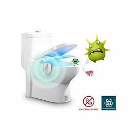 Lampa LED UV WC sterilizare, senzor miscare, baterii incluse