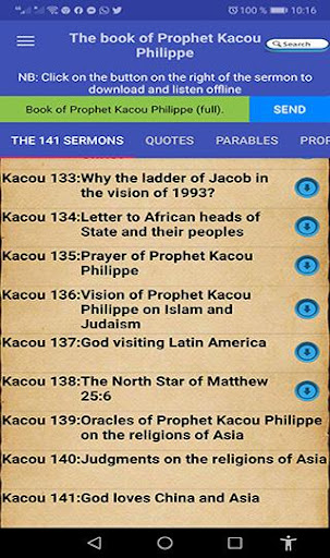 Prophet Kacou Philippe (Official) android2mod screenshots 3