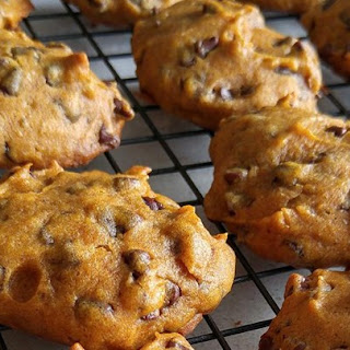 Pumpkin Chocolate Chip Cookies III.