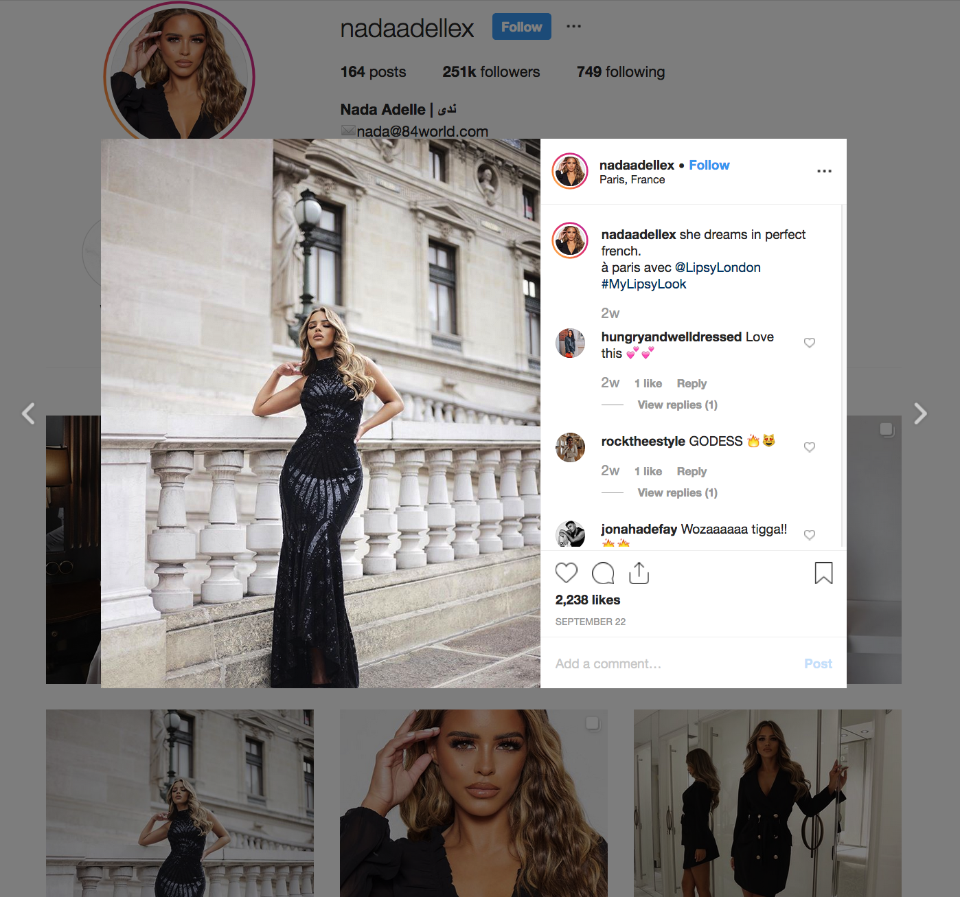 Nada Adelle | Fashion Influencer