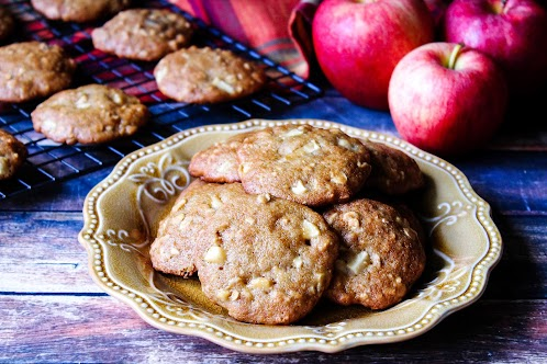 Apple Butter Oatmeal Cookies