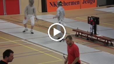Video: Eliminatie ... tegen Matthijs