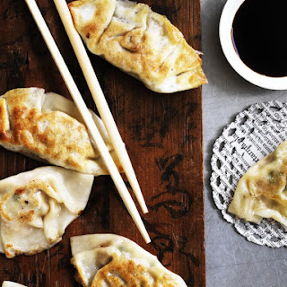 Pork and Cabbage Gyozas (Japanese Dumplings)
