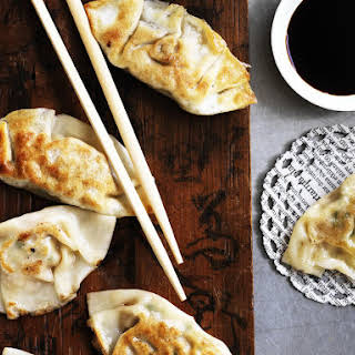 Pork and Cabbage Gyozas (Japanese Dumplings).