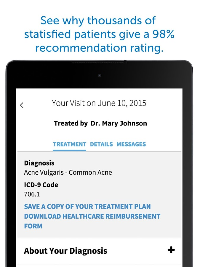 Washington DC Dermatology- screenshot