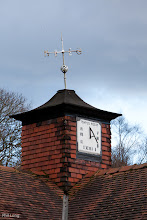 Photo: The sun dial on the tram building in Heaton Park.