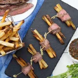 Steak Frite Bites.