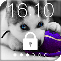 Husky Puppy HD Free PIN Lock icon