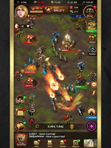 Glory of Thrones: War of Conquest 1.0.4 screenshots 18