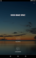 Screenshot of NIKON IMAGE SPACE